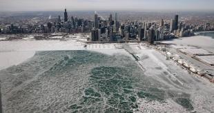La semana pasada Chicago tuvo temperaturas de 40º bajo cero.