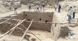 La cámara funeraria inca fue descubierta en la costa norte de Perú con ofrendas, miles de crisoles de cerámica y restos óseos.
