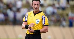 El brasileño Raphael Claus fue el elegido para dirigir el juego de revancha en la sudamericana del Deportivo Santaní ante Once Caldas.