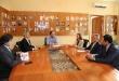 Reunión mantenida entre autoridades del MH, encabezada por Benigno López, y representantes del BID.