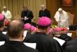 """Inicio de la cumbre para tratar de """"curar las graves heridas del escándalo de la pedofilia"""" en la Iglesia."""