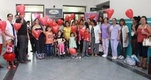 En el Día Internacional de Cardiopatías Congénitas compartieron experiencias en el Pediátrico de Acosta Ñu.