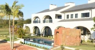 """La quinta """"Nápoles"""", propiedad de Reinaldo Javier Cabaña, alias """"Cucho"""", situada en el distrito de Juan E. O'Leary."""