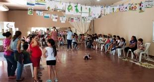 La creatividad fue el pilar de los talleres que se desarrollan en las localidades de San Pedro.