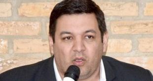 El lanzamiento de la precandidatura del concejal liberal, Teodoro Mercado, a la intendencia de Ciudad del Este.