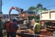 Continúan las tareas de la ampliación de la Planta de Tratamiento de Aguas Residuales y la rehabilitación o construcción de 133 Km de tuberías de alcantarillado.