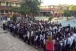 Los alumnos comenzaron las clases.