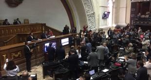Este martes se llevó adelante la sesión de la Asamblea venezolana.
