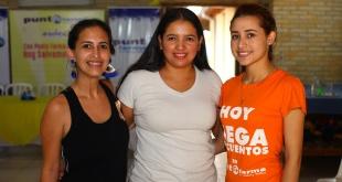Susana Hermosilla, Cecilia Florentín y Sandra Ozuna.