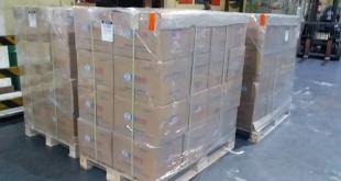 Las autoridades estadounidenses planean enviar a partir del sábado 250 toneladas de comida. Foto: @USAIDMarkGreen.