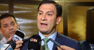 Silvio Ovelar, presidente del Senado.