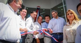 El acto oficial de inauguración contó con la presencia del jefe de Estado, Mario Abdo Benítez. Foto: Presidencia.