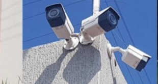 Cámaras de vigilancia encontradas en diferentes puntos estratégicos de Pedro Juan Caballero.