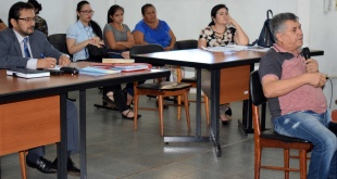 La defensora pública de Hernandarias, Emilia Santos, asistió al acusado en el juicio oral.