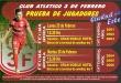 El Club 3 de Febrero de la capital del Alto Paraná, convoca a los interesados a participar de la prueba de jugadores, que será entre los días 25 y de 26 de febrero.