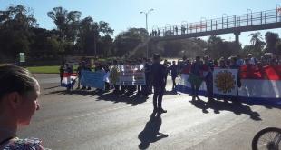 La movilización será mañana viernes 15 de febrero, sobre la ruta internacional N° 7 a la altura del km 20 Minga Guazú, a partir de las 09:00 horas. ARCHIVO.