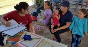 En la oportunidad, el Equipo de Salud de la Familia abordó con la comunidad sobre el cronograma de actividades del año.