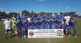 Sol de América de Pastoreo se instala en la siguiente fase de la Copa Paraguay, que reunirá a equipos de todo el país.