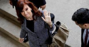 La expresidenta argentina Cristina Fernández.