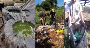 Preocupa el alarmante número de criaderos y la desidia de la ciudadanía, al acumular recipientes inservibles en sus casas.