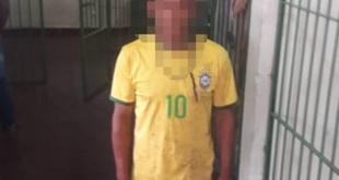El detenido fue trasladado a la Comisaría 2° Caaguazú, donde quedó a disposición del Ministerio Público. Foto: @RRPPpoliciapy.