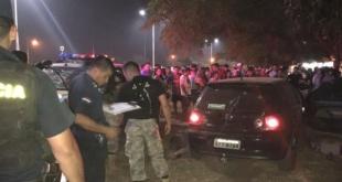El ataque ocurrió por vuelta de las 21: 30 horas del sábado. Foto: Amambay 570.