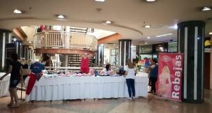 La feria se realizó ayer en el Shopping Zunni de Ciudad del Este.
