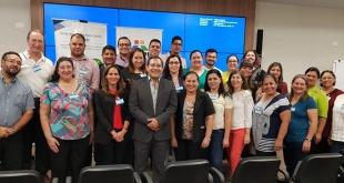 El encuentro se desarrolla en la margen izquierda de la Entidad Binacional Itaipú, con apoyo del Grupo de Trabajo Itaipú Salud (GTIS).