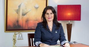 La agente fiscal de la Unidad Especializada en Hechos Punibles contra el Orden Económico y Anticorrupción, Victoria Acuña.