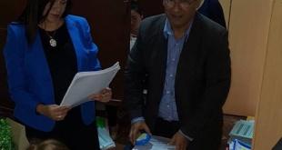 La agente fiscal de la Unidad Especializada de Delitos Económicos y Anticorrupción, Yolanda Portillo allanó este martes instalaciones de la Municipalidad de Concepción.