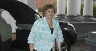 Gladys Cardozo, exministra de Emergencia Nacional.