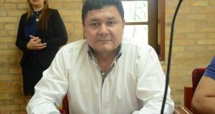 Herminio Corvalán, presidente de la Junta Municipal.