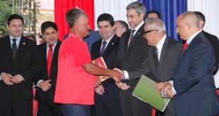 En la oportunidad, se contó con la presencia del mandatario Mario Abdo Benítez.