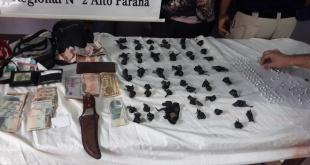 En la oportunidad, se incautó en total 161 dosis de cocaína tipo crack, totalizando 18,7 gramos de la droga. Foto: Ministerio del Interior.