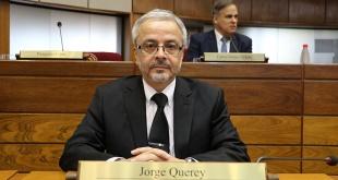 Jorge Querey, senador del Frente Guasu.