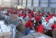 Preparación de kits escolares en los depósitos del MEC. Archivo / Foto IP.
