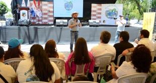 El ministro del Ambiente y Desarrollo Sostenible, Ariel Oviedo, representó al Poder Ejecutivo en el acto.