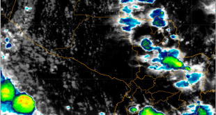 Siguen afectando a varios departamentos núcleos de tormentas dispersos.