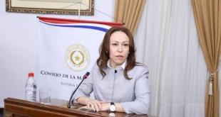 Dra. María Elodia Almirón, doctora en Ciencias Jurídicas y especialista en materia de Derechos Humanos.
