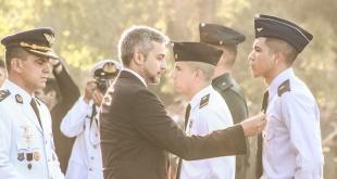 Mario Abdo Benítez, ratificó su apoyo al Servicio Militar Obligatorio.