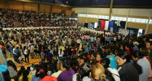 El acto de entrega contó con la presencia de directivos del programa y autoridades departamentales y nacionales.