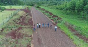 Autoridades controlaron el avance de los trabajos.