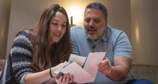 Ted Wood conoció a su hija, Melissa Daniels, a través de un proyecto en línea.