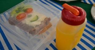 Los niños precisan de alimentos saludables.