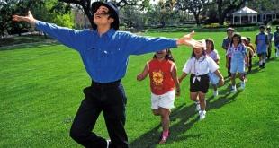Michael Jackson recibía a niños en su rancho Neverland.