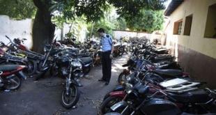 Las motocicletas incautadas están en situación presuntamente irregular.