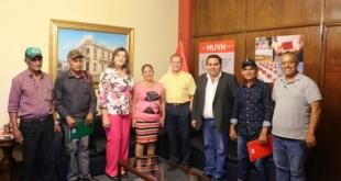En concreto de las 4 Comisiones vecinales que estuvieron representadas en la reunión una ya tuvo respuesta positiva a su pedido de 58 viviendas.