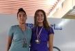 Paula Balansino (derecha) integra el equipo nacional que nos representará en el Sudamericano.
