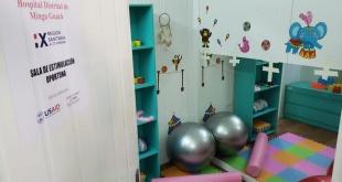 La sala habilitada cuenta con todos los elementos necesarios para una atención de calidad.