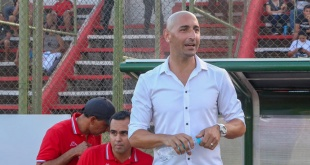 Sergio Orteman, entrenador del Sportivo San Lorenzo. (Foto Prensa CSSL)